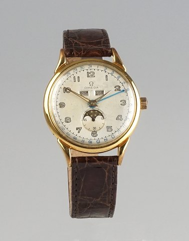 Omega Cosmic Triple Date Moonphase, cal. 381. 1948-1949