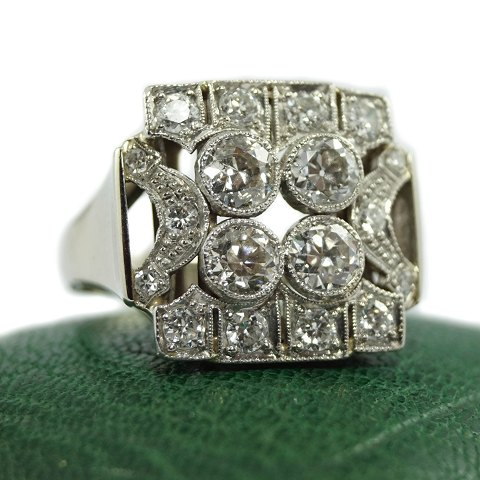 Art deco diamantring