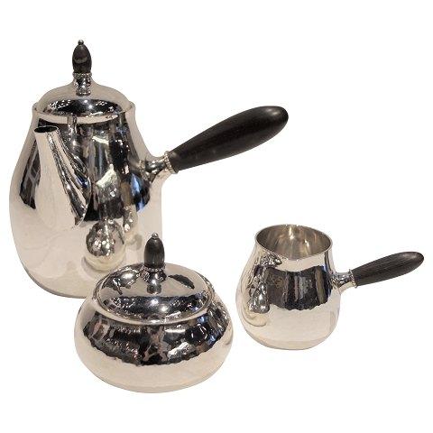 kaffeservise med kobolt