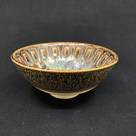 Søholm bowl with running glaze
