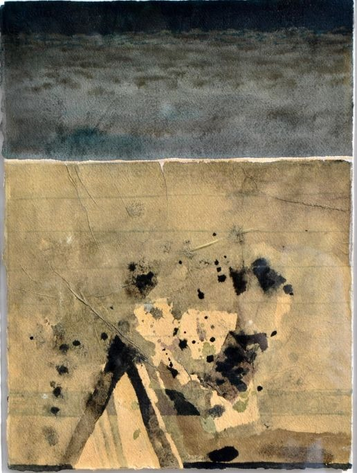 Schilling, Frede Walther (1928 - 2004) Danmark: Nat fragment II.