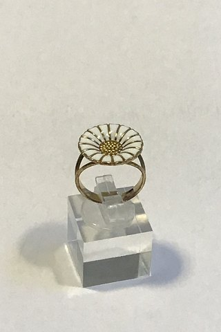 Georg Jensen Forgyldt Sterling Sølv Margueritte Ring