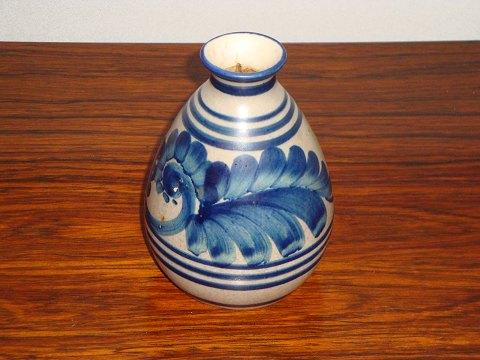 Antikvitet Dansk Vase I Blgr Farver H 14 Cm 5000