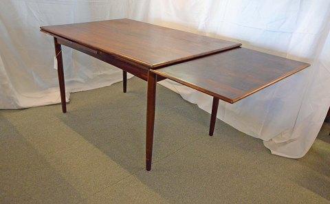 www.Antikvitet.net - Spisebord i palisander med hollandsk udtræk