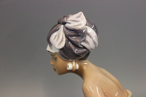 kvinde med turban