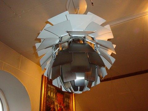 kogle lampe største
