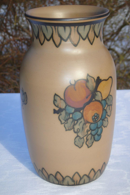 keramik hjorth .Antikvitet.  L. Hjorth Keramik Vase keramik hjorth