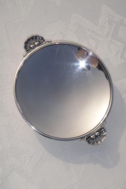 sølvfad georg jensen