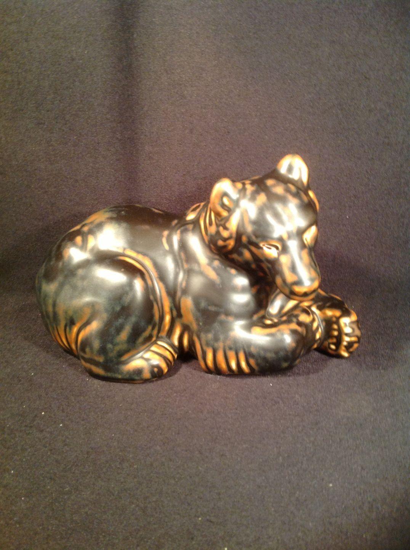 kongeligt porcelæn bjørn