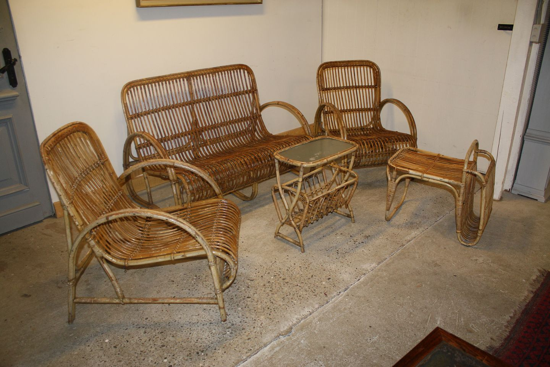 Bambusmøbler