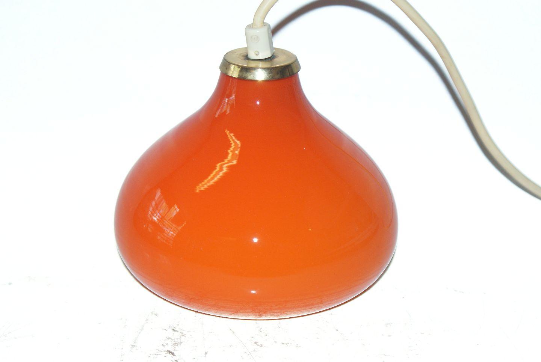 orange glas lampe. Black Bedroom Furniture Sets. Home Design Ideas