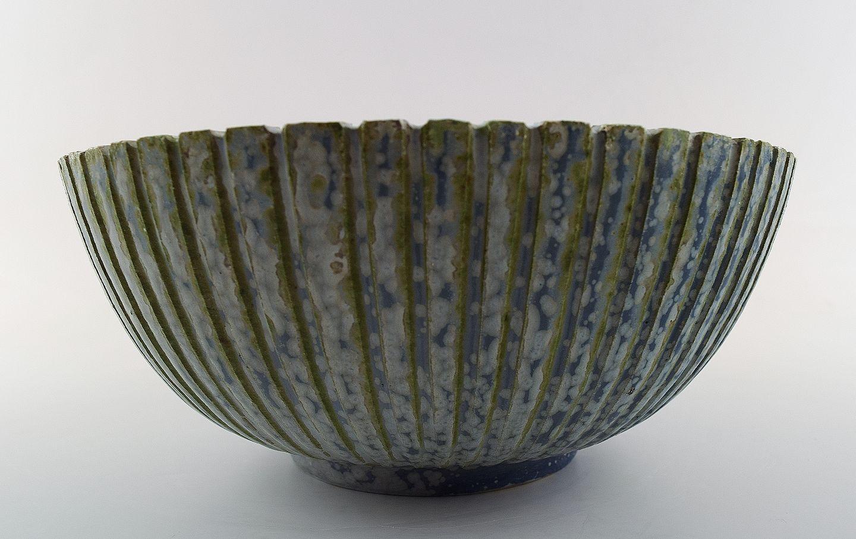 arne bang keramik .Antikvitet.  Arne Bang. Keramik, skål. Stemplet AB 123. arne bang keramik