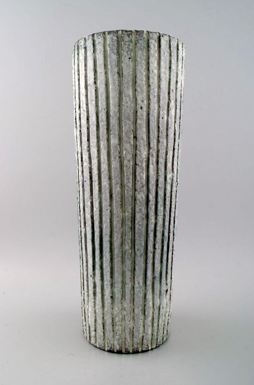 keramik gulvvase .Antikvitet.  Mari Simmulson for Upsala Ekeby keramik  keramik gulvvase