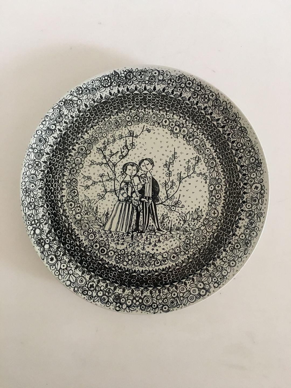 nymølle keramik .Antikvitet.  Bjørn Wiinblad Nymølle Keramik. De 4 årstider  nymølle keramik