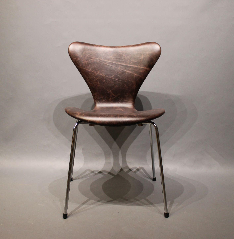 arne jacobsen 3107 stol .Antikvitet.  Syver stol, model 3107, desigaf Arne  arne jacobsen 3107 stol