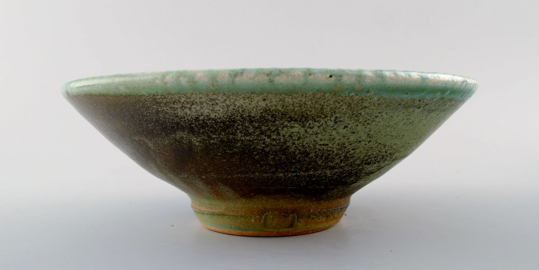 unika keramik .Antikvitet.  Dansk keramiker. * Håndlavet, unika keramik skål. unika keramik