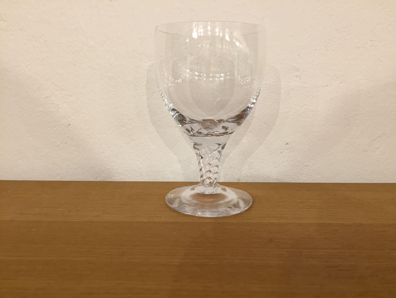 Harsted Antik - Amager hvidvinsglas