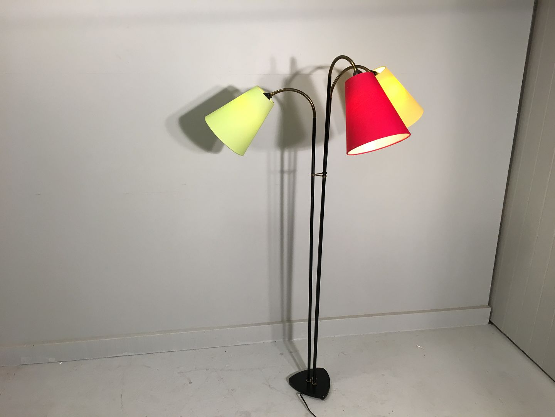 retro standerlampe .Antikvitet.  Retro standerlampe retro standerlampe
