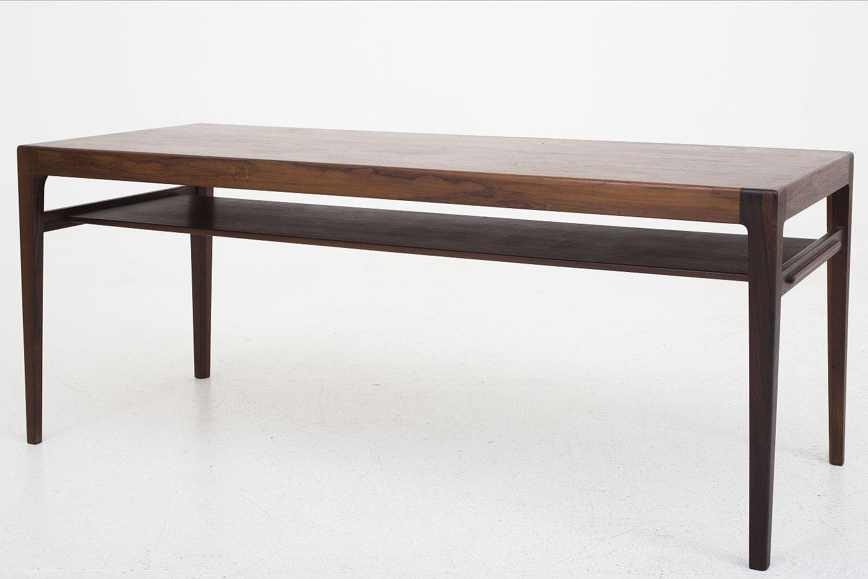 sofabord med hylde .Antikvitet.  Ludvig Pontoppidan / Snedkermester Ludvig  sofabord med hylde