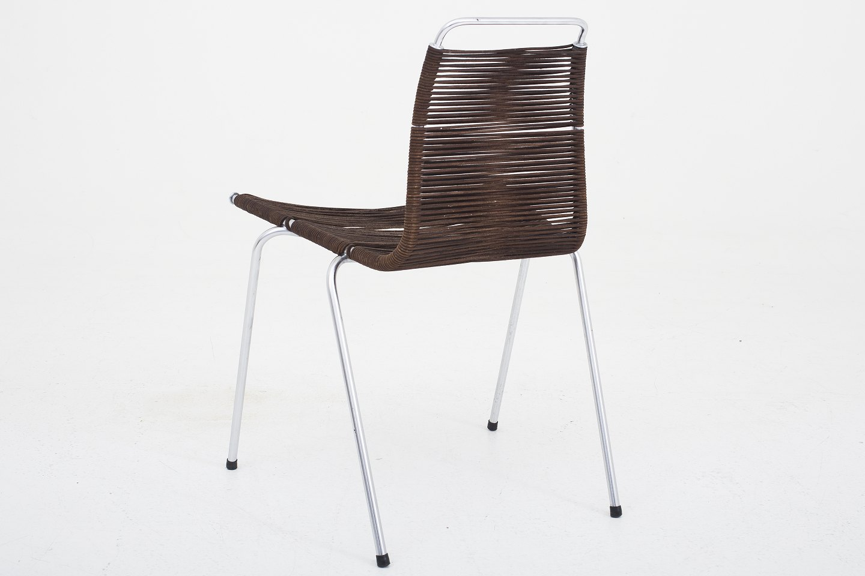 poul kj rholm thorsen m bler pk 2 stol med l dersn re og stel i st l 4. Black Bedroom Furniture Sets. Home Design Ideas