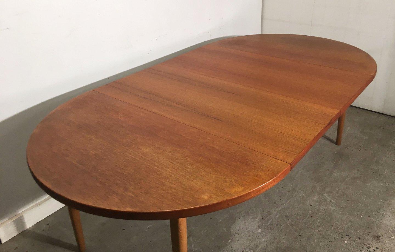 spisebord med udtræksplader