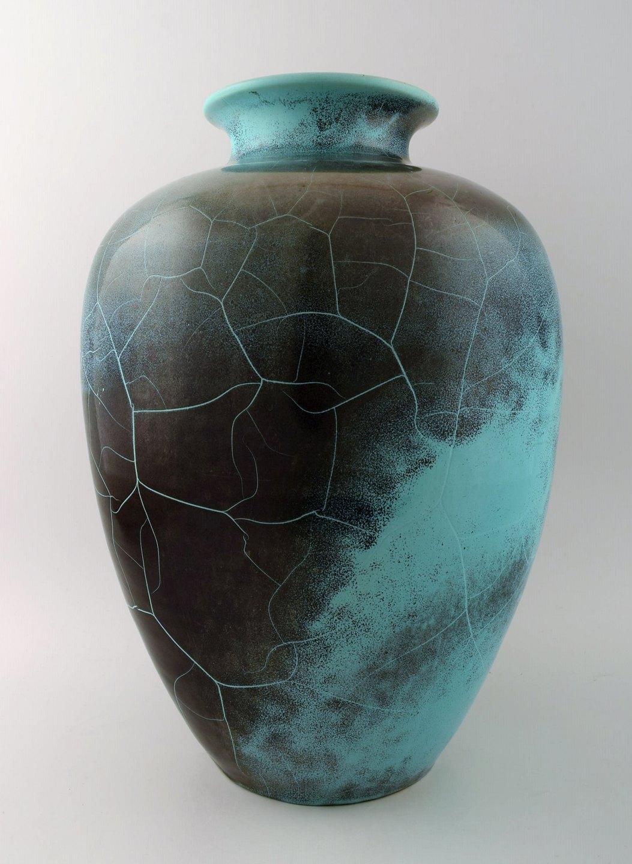 stor gulvvase .Antikvitet.  Richard Uhlemeyer, tysk keramiker. * Stor  stor gulvvase