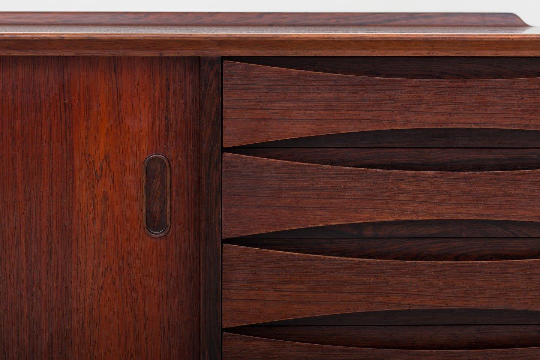 arne vodder sibast m bler sk nk i palisander med bagkant to l ger og. Black Bedroom Furniture Sets. Home Design Ideas