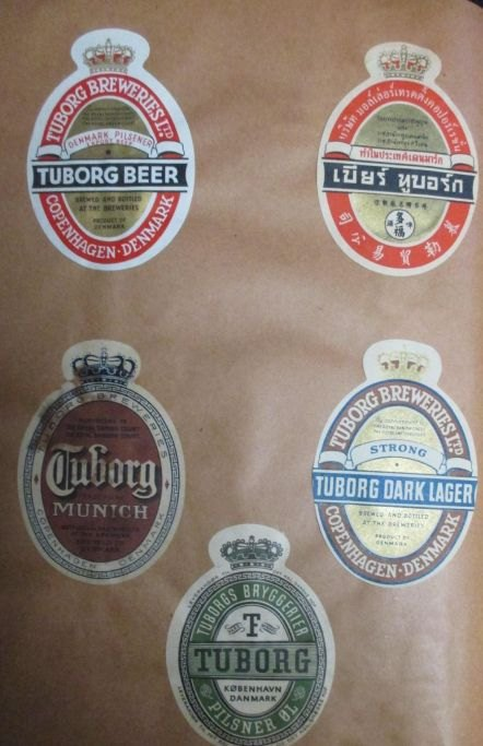 lage øl etiketter