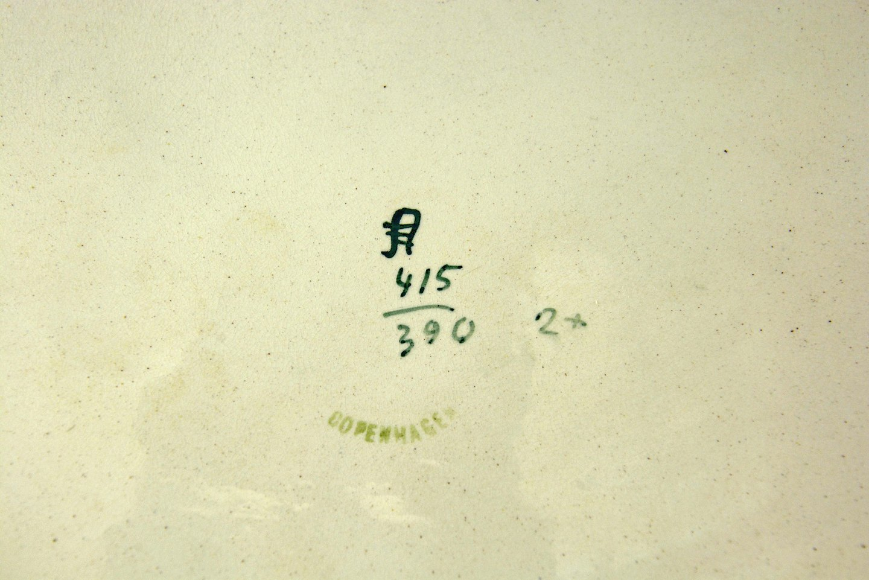 Wwwantikvitetnet Aluminia Juleplatte år 1905 Hellige Trekonger