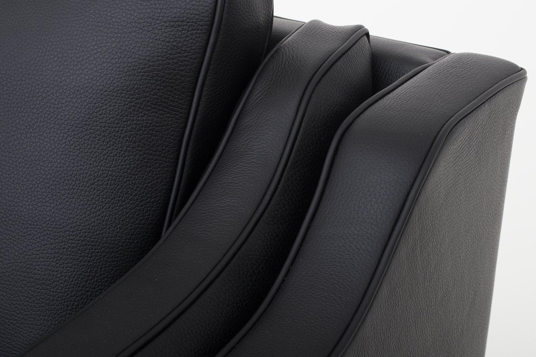 b rge mogensen fredericia furniture bm 2212 nybetrukket 2 pers sofa i. Black Bedroom Furniture Sets. Home Design Ideas